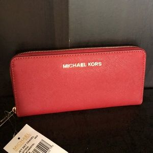 Michael Kors Red Wallet
